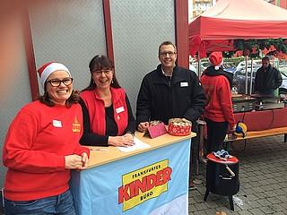 20 Jahre Aktion 'Weihnachtsgeschenke für Frankfurter Kinder'