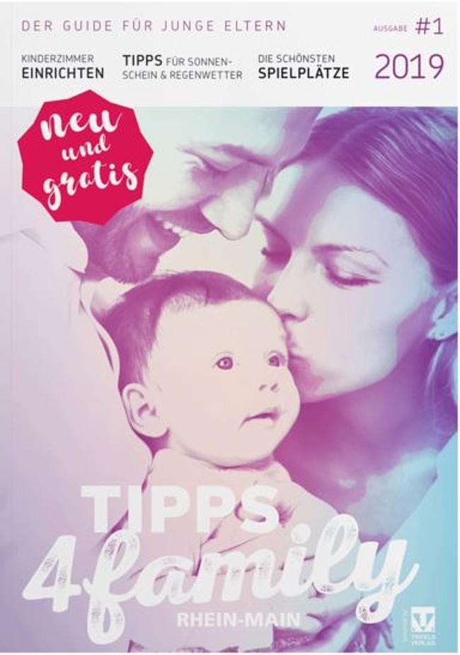 Neues Familien Magazin für Rhein-Main: der Tipps4Family Guide 2019 ist da