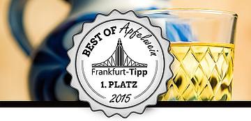 Frankfurt-Tipp Best of-Aktion: Gesucht wird der beste Apfelwein in Frankfurt und Umgebung!
