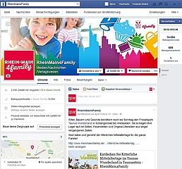 RheinMain4Family freut sich über 2.000 Fans auf Facebook
