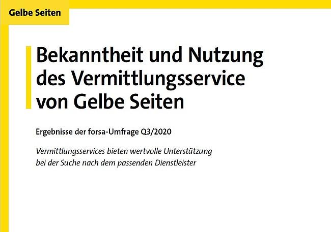 Aktuelle Umfrage: Vermittlungsservices bieten wertvolle Unterstützung bei der Suche nach dem passenden Dienstleister