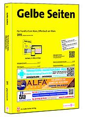 Die neue Ausgabe Gelbe Seiten für Frankfurt und Offenbach 2015 ist da