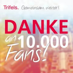 Der Trifels Verlag sagt Danke zu 10.000 Facebook-Fans
