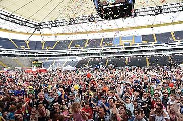 Familien aus dem Rhein-Main-Gebiet feierten Festival4Family