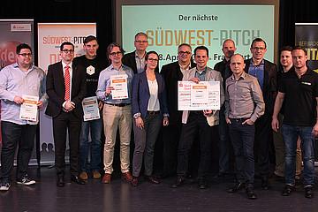 Startup-Unternehmer überzeugten bei zweitem Südwest-Pitch in Saarbrücken