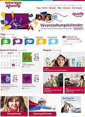 Das neue regionale Portal RheinMain4Family.de soll Familien die Suche erleichtern