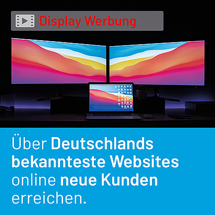 DISPLAY WERBUNG