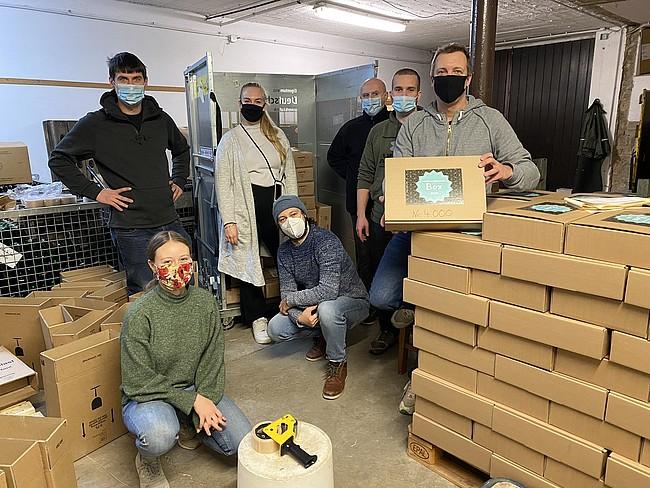 Über 4.000 Weihnachtsmarkt-Boxen wurden verkauft