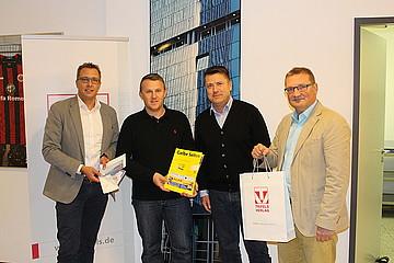 Der Hauptpreis des Trifels Jahresgewinnspiels 2014/2015 wurde verliehen