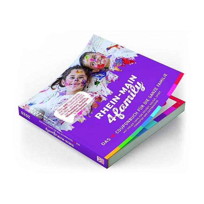 Das neue RheinMain4Family Couponbuch für Familien