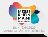Messe Rhein Main am 18.+19.04.2020 - Jetzt anmelden!