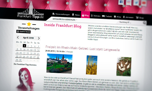 Trifels Verlag Frankfurt-Tipp Inside Frankfurt Blog